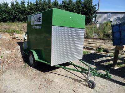 Small furniture trailer, 8x4