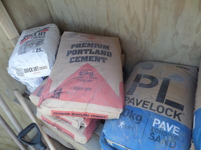 Cement bags, 40kg.